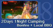 2 Days 1 Night Camping Bonfire and BBQ