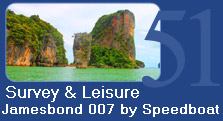 Survey and Leisure Jamesbond 007 by speedboat