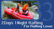 2 Days 1 Night Rafting