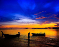 Relaxing on Koh NakhaNoi by ExcursionsPro